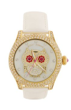 Betsy Johnson owl watch
