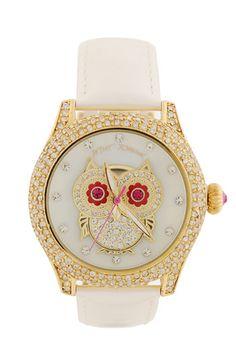 Betsy Johnson owl watch
