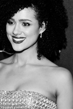 Nathalie Emmanuel attends the 2016 InStyle And Warner Bros. 73rd Annual Golden Globe Awards Post-Party