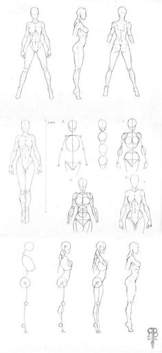 61 Ideas for drawing tutorial human figures character design Body Reference, Anatomy Reference, Design Reference, Drawing Reference, Anatomy Study, Body Anatomy, Female Reference, Drawing Skills, Drawing Techniques
