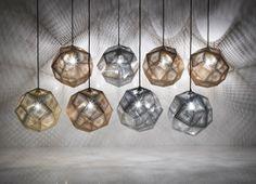 Elegant loftslampe fra metalfikserede Tom Dixon. #tomdixon #lamper #indretning
