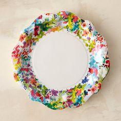 Garden Fiesta Disposable Plates