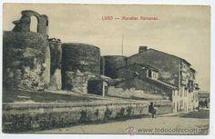 Lugo: Muralla Romana  (many years ago)