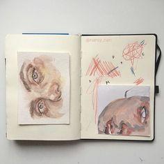 Caiet De Schițe, Desene Artistice, Desene De Nota 10, Tutoriale Desen, Arte Vizuale, Carnet Cu Schițe, Acuarele, Artă Modernă, Shițe