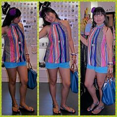 Top-bangkok dress,short-h&m,accessories-aldo and forever 21,sandal-vincci,bag-longchamp