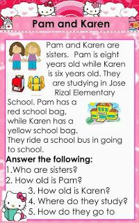 English reading passages with CVC and Dolch Sight words for beginning readers. It contains comprehension questions for comprehension check. 1st Grade Reading Worksheets, First Grade Reading Comprehension, Grade 1 Reading, Kindergarten Reading Activities, Reading Comprehension Worksheets, Phonics Reading, Reading Passages, Teaching Reading, Teaching Phonics