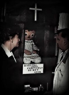 Annabelle, Ed and Lorraine Warren's creepy doll and its creepy history