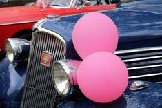Ballons Roses et Belles Mécaniques..