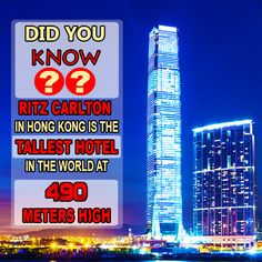 that the tallest in the world opened its doors in The opened in March 2011 and reaches a massive 1600 feet meters or 118 stories) into the air! At the moment it is the largest building in the world What's Trending, Did You Know, Hong Kong, Fun Facts, Doodles, March, Around The Worlds, In This Moment, Building