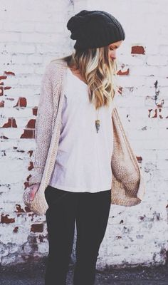 Love this laid back style.