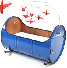 oil barrel cradle 1
