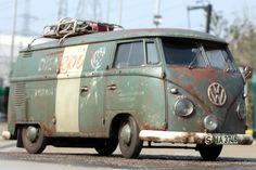 Volkswagen Group, Volkswagen Bus, Vw T1, Vw Camper, Vw Modelle, Rat Look, Vw Cars, Vintage Vans, Vw Beetles