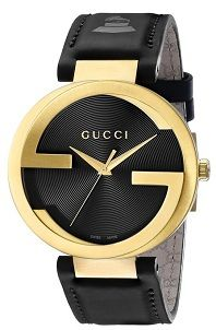 ac33fd0fb9f  MensStyle  Watches Gucci Men s YA133208 Interlocking Grammy Special  Edition Yellow Gold PVD Stainless Steel