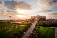 Emirates Palace, Abu Dhabi : Managed by the Kempinski Group of hotels and resorts, this seven-star property is the second most expensive hotel ever built. Might as well play the part and arrive via the private marina or helipad.