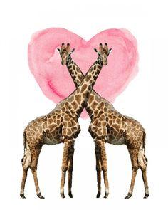 Free Giraffe Printables - Dwell Beautiful