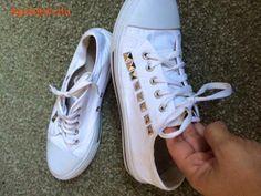Női egyedi tornacipö Fehérgyarmat - Apródom.hu Converse, Sneakers, Shoes, Fashion, Tennis, Moda, Slippers, Zapatos, Shoes Outlet
