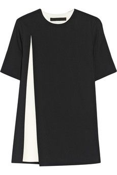 Alexander Wang Layered crepe top | THE OUTNET