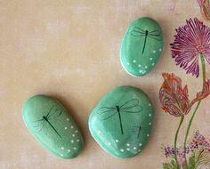 Painted Rocks Dragonflies