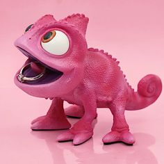Here is enagement ring holder I sculpted inspired by Disney Tangled Pascal chameleon. It is pink variant of my most recent sculpture. Enagement Rings, Custom Made Engagement Rings, Ring Boxes, Dimmable Led Lights, Disney Tangled, Chameleon, Minions, Dinosaur Stuffed Animal, Sculpture