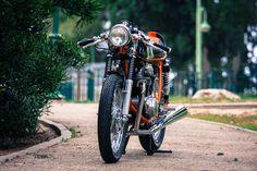 Back on Two Honda CB350 Cafe Racer ~ Return of the Cafe Racers
