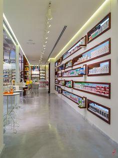 #MARKETINGJAZZ #Retaildesign #Pharmacies. Interior #FarmaciaHermosa