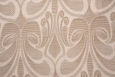 taupe cream linen look (rayon/poly) upholstery