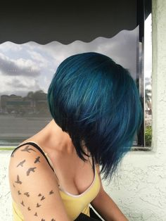 Helped my friend go from a faded purple to a blue-green! - Album on Imgur