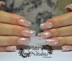 150 festive christmas nail art designs – page 1 Pink Nail Art, Glitter Nail Art, Pink Nails, Xmas Nails, Holiday Nails, Christmas Nails, Trendy Nails, Cute Nails, Bridal Nails Designs