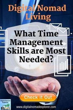 Time management skills are needed so that you can get all the things you need done while living your digital nomad life. Check out how you can make things happen! Work Travel, Travel Tips, Time Management Skills, Free Facebook, Digital Nomad, Travel Abroad, Online Work, Traveling By Yourself