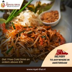 Tantalize your taste buds with the flavourful Thai delicacy. Order today and unlock special offers. . . . . #SafetyFirst #OnlineOrder #FreeDelivery #Thai #ThaiFoods #ThaiDishes #Cuisines #FoodPorn #Foodie #ThaiCuisine #Restaurant #Yummy #Delicious #ThaiFoodLover #FoodLovers #FoodBlogger #SeaFood #ThaiRestaurant #RoyalThai #HygienicEnvironment Best Thai Restaurant, Authentic Thai Food, Thai Dishes, Thai Recipes, Taste Buds, Cold Drinks, Amsterdam, Seafood, Food Porn