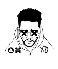 The Weeknd Drawing Tumblr The weeknd - minarmy wireless
