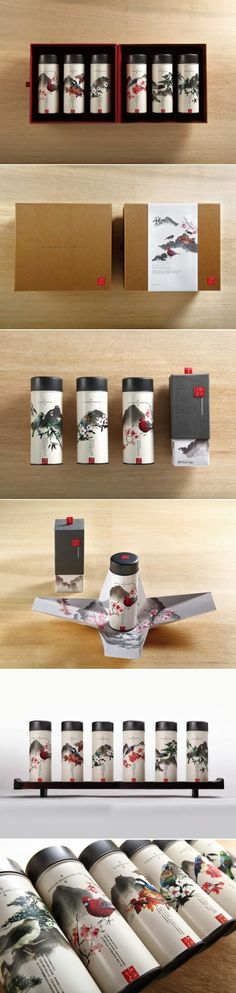Taiwan High Mountain Tea packaging design