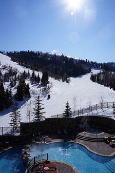 Park City Utah... St. Regis (Deer Valley). looks like a skiing place
