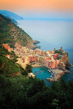 Cinque Terre , Italy