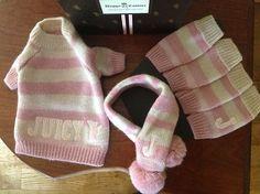 Dog Sweater Set Juicy Couture | eBay