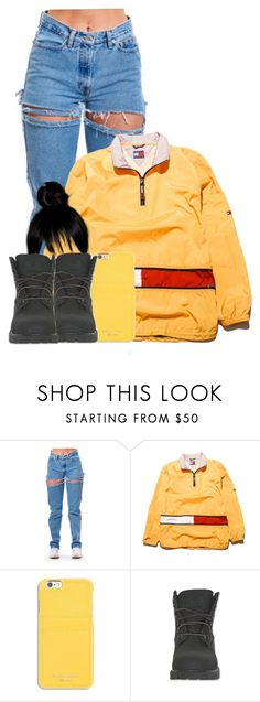 """Untitled #2842"" by alisha-caprise ❤ liked on Polyvore featuring Tommy Hilfiger, MICHAEL Michael Kors and Timberland"