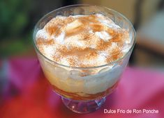 Receta para preparar Dulce Frío de Ron Ponche para Navidad (egg nog, ron pope) en SazonOnline, con el detalle de los ingredientes, instrucciones del paso a paso y fotos.