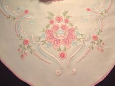 Pink Dream Runner Embroidery Designs