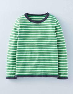 Fine Stripe Sweater 21899 Knitwear at Boden