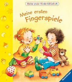 Meine ersten Fingerspiele, £8.75 Poetry Text, Poetry Anthology, Toddler Books, Book Activities, Activity Books, Nonfiction Books, Kindergarten, Audio, Teddy Bear