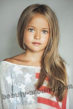 Пименова Кристина красивая русская девочка-модель фото