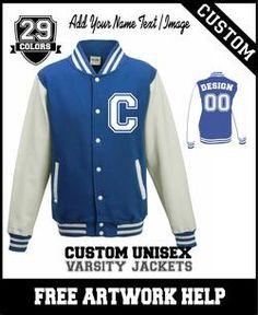 blue custom basketball football team varsity baseball jackets Varsity  Letterman Jackets 70a58bd48