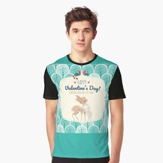 Wish Come True, Matching Outfits, Happy Valentines Day, Bold Colors, Cuddling, Deer, Shirt Designs, Bunny, Parenting
