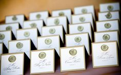 Good Wedding Place Cards Ideas With Monograms On Each Guest S Place Card Is Always A Nice Touch In Wedding Cards