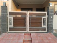 Modern Gate Design – The Modern Limited House Front Design, Main Door Design, House Main Gates Design, House Front Gate, Front Gate Design