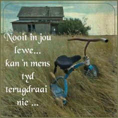 App Story, Afrikaanse Quotes, Outdoor Decor, Tricycle, Tart, Thankful, Home Decor, Decoration Home, Pie