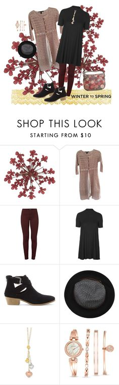 """warming trend"" by create-494 ❤ liked on Polyvore featuring Robert Rodriguez, J Brand, Topshop, Sole Society, La Fiorentina, Kevin Jewelers, Anne Klein, Coach and Wintertospring"