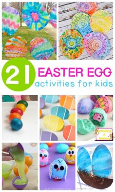 These fun egg activi