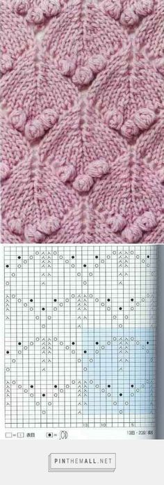 Diamonds and Bobbles - Knitting Kingdom