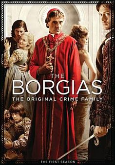 The Borgias...Amazing show. Finished the first season last night on Netflix!!!! Completely addicted!